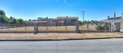 Chino Single Family Home For Sale: 11412 Telephone Avenue