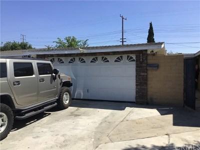 Anaheim Single Family Home For Sale: 606 N Rose Street