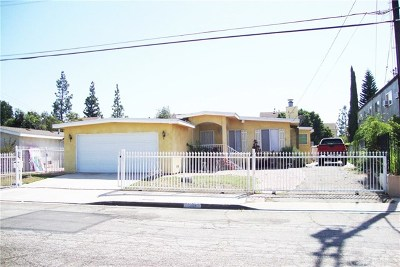 El Monte Single Family Home For Sale: 10958 Emery Street