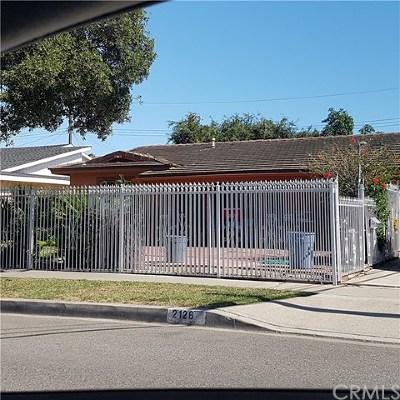 Santa Ana Single Family Home Active Under Contract: 2126 W Elder Avenue
