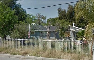 San Bernardino Single Family Home For Sale: 4294 Electric Avenue