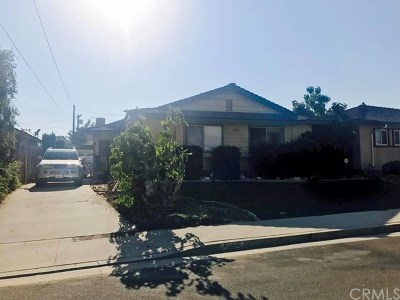 San Gabriel Single Family Home Active Under Contract: 6007 Avon Avenue