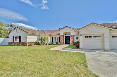 Corona Single Family Home For Sale: 944 Randall Ranch Road