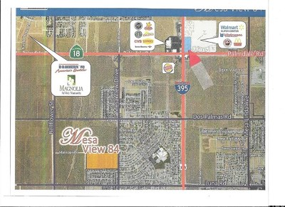 Victorville CA Residential Lots & Land For Sale: $1,800,000