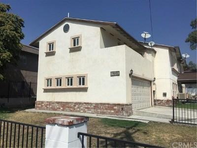 San Bernardino Multi Family Home For Sale: 1580 E Date Street