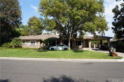 Pasadena Single Family Home For Sale: 814 Vallombrosa Drive