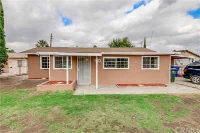 Loma Linda Single Family Home For Sale: 1824 Coulston Street