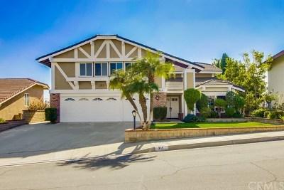 Walnut Single Family Home For Sale: 311 Amberwood Drive