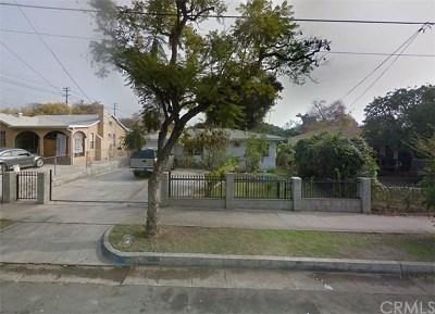 Pasadena Single Family Home For Sale: 1558 Mentone Avenue