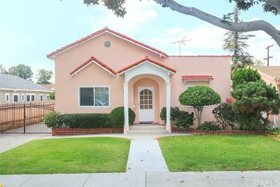 Glendale Single Family Home For Sale: 723 Wing Street