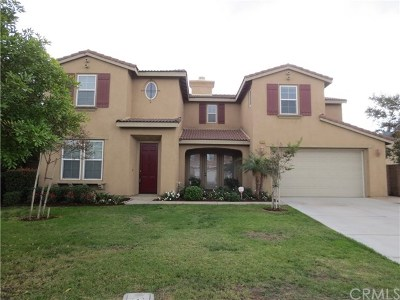 Corona Single Family Home For Sale: 7324 Morning Hills Drive
