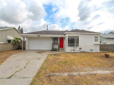 Compton Single Family Home For Sale: 810 N Broadacres Avenue