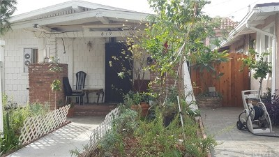 Glendale Single Family Home For Sale: 619 S Louise Street