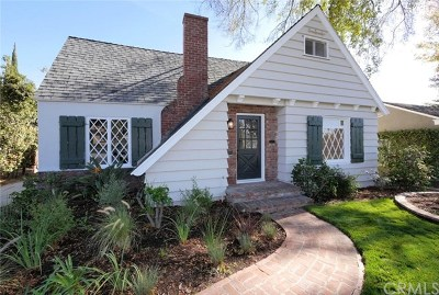 Pasadena Single Family Home For Sale: 1626 N Grand Oaks Avenue