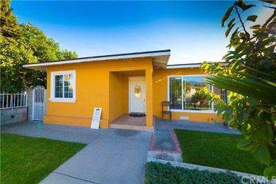 Baldwin Park Single Family Home For Sale: 14534 Los Angeles Street