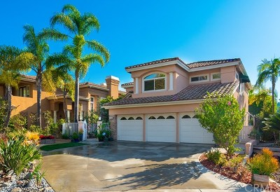 Mission Viejo Single Family Home For Sale: 27500 Morro Dr