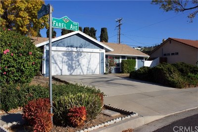 Diamond Bar Single Family Home For Sale: 1006 Farel Avenue