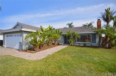 Huntington Beach Single Family Home For Sale: 21202 Miramar Lane