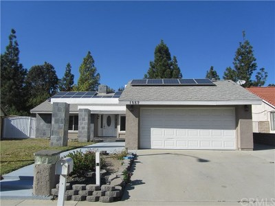 Diamond Bar Single Family Home For Sale: 1557 Meadow Glen Road