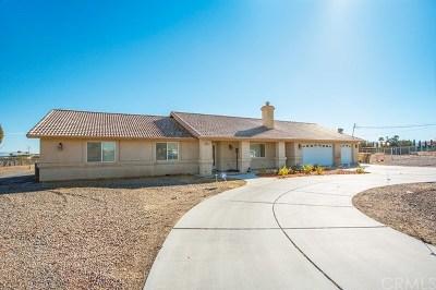 Hesperia Single Family Home For Sale: 9215 Cottonwood Avenue