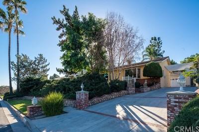 La Verne Single Family Home For Sale: 251 Summit Road