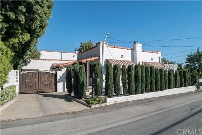 San Gabriel Single Family Home For Sale: 6820 La Presa Drive