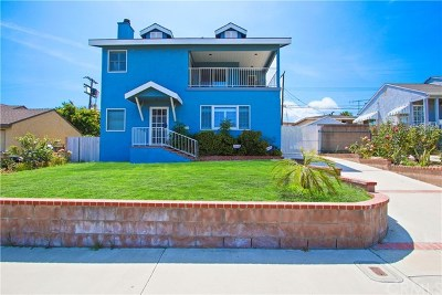 San Pedro Single Family Home For Sale: 145 N Harbor View Avenue