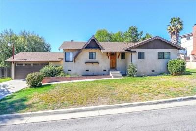 Walnut Single Family Home For Sale: 479 Castlehill Drive