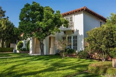 San Marino Single Family Home For Sale: 1818 Twin Palms Drive