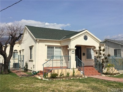Pasadena Single Family Home For Sale: 3557 Brandon Street
