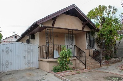 Los Angeles Multi Family Home For Sale: 3329 Roseview Avenue
