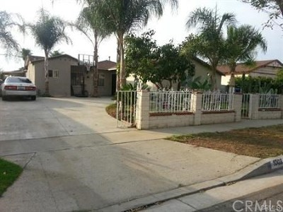 La Puente Single Family Home For Sale: 1003 Tonopah Avenue