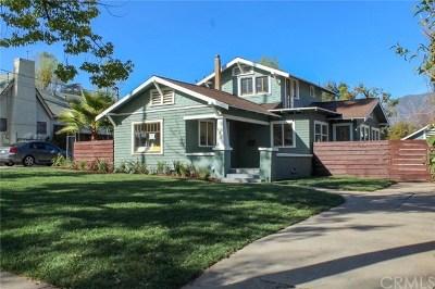 Pasadena Single Family Home For Sale: 485 E Elizabeth Street