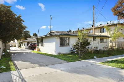 South El Monte Multi Family Home For Sale: 2469 Potrero Avenue