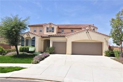Corona Single Family Home For Sale: 7352 Sanctuary Drive