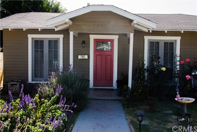 Whittier Single Family Home For Sale: 6343 Court Avenue