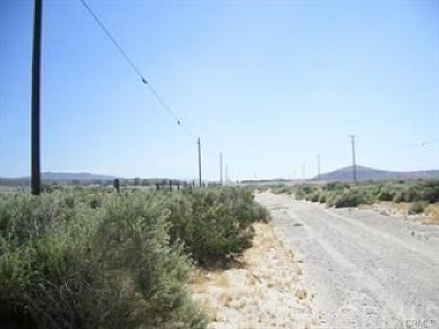 Barstow CA Residential Lots & Land For Sale: $22,000