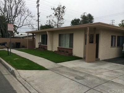 Baldwin Park Multi Family Home For Sale: 4411 Walnut Street