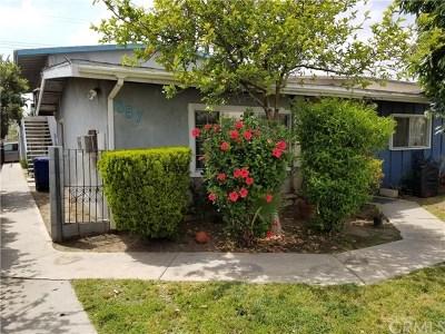 Ontario Multi Family Home For Sale: 857 N Vineyard Avenue N