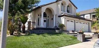 Chino Hills Single Family Home For Sale: 2669 Paseo Del Palacio