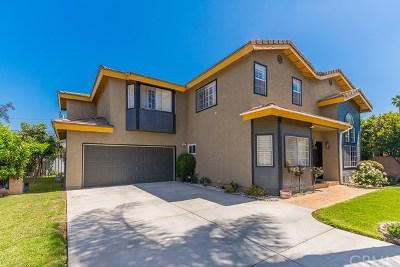 San Gabriel Single Family Home For Sale: 8725 Arcadia Avenue