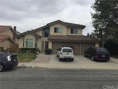 Hacienda Heights Single Family Home For Sale: 2168 Tomich
