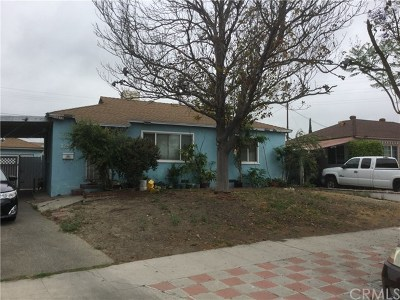 North Hollywood Single Family Home For Sale: 12565 Lorne Street