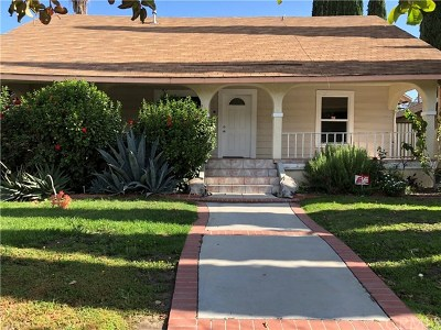 Monrovia Single Family Home For Sale: 401 E Olive Avenue