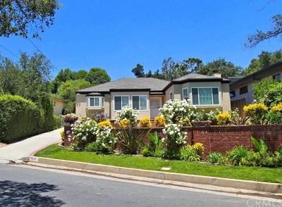 La Canada Flintridge Single Family Home For Sale: 1035 Olive Lane