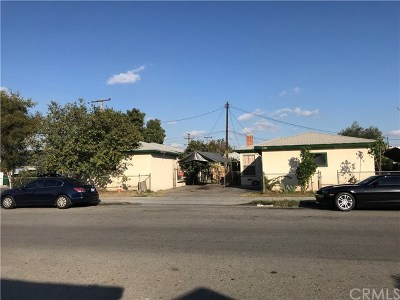 South El Monte Multi Family Home For Sale: 2346 Continental Avenue