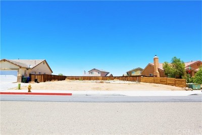Adelanto CA Residential Lots & Land For Sale: $62,500