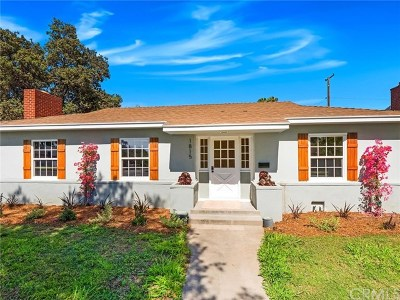 Santa Ana Single Family Home For Sale: 1815 N Olive Street