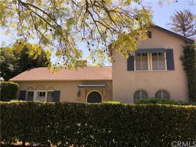 San Marino Single Family Home For Sale: 2540 Monterey Road