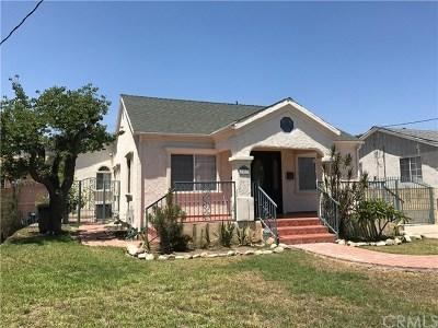 Pasadena Single Family Home For Sale: 3557 Brandon Street